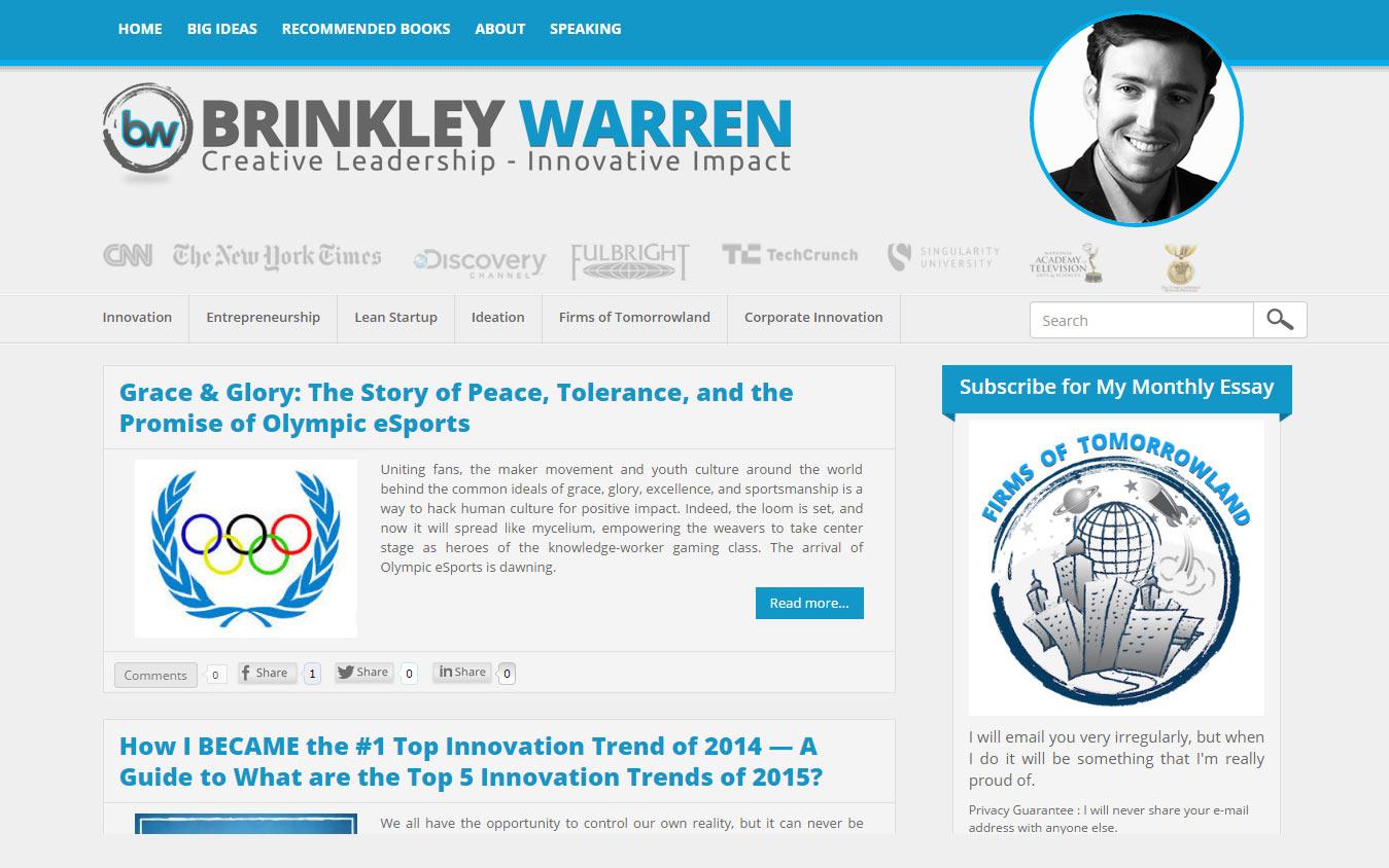 Brinkley's Personal Website